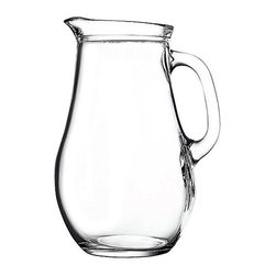Hospitality Glass - 9.5H x 4.5T x 6.75B 61.75 oz Pitcher 6 Ct - 61.75 oz Pitcher