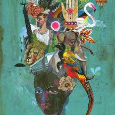 Contemporary Artwork by Olaf Hajek Illustration