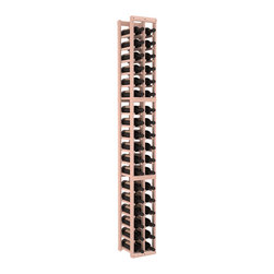 Wine Racks America - 2 Column Standard Wine Cellar Kit in Redwood, White Wash - We select from the highest grade materials available. Completely solid assembly retains strength and durability to withstand extensive use. We guarantee it. All the edges of our products are softened to ensure you won't get nicks or splinters, like you will from budget brands. You'll be satisfied. We guarantee that, too.