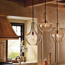 Eclectic Pendant Lighting by Win Supply Company