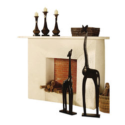 Crestview Collection - Crestview Collection CVCHE194 Stanwood Candleholders - Crestview Collection CVCHE194 Stanwood Candleholders