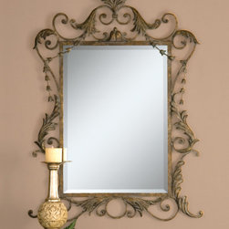 "12676-b Corliss by uttermost - Get 10% discount on your first order. Coupon code: ""houzz"". Order today."