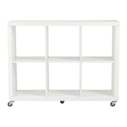 Eurostyle - Euro Style Sabra Collection Sabra 2X3 Storage Unit in White - Sabra 2X3 Storage Unit in White in the Sabra Collection by Eurostyle