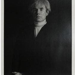 Signed Andy Warhol Silver Print By Curtis Knapp Popart Pop Art - Artist: Curtis Knapp, American