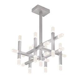 Sonneman Lighting - Sonneman Lighting 2135.16 Connetix Pendant Light In Bright Satin Aluminum - Sonneman Lighting 2135.16 Connetix Pendant Light In Bright Satin Aluminum
