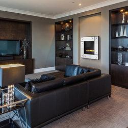 Heat & Glo Modern Series - REVO-S21 - Studio, Black, White Panel