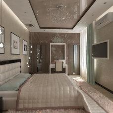 Modern Rendering by Aleksandra Kucherenko interiors