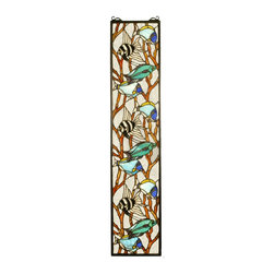 Meyda Tiffany - Meyda Tiffany 50840 Tropical Fish Tiffany Window - Meyda Tiffany 50840 Tropical Fish Tiffany Window