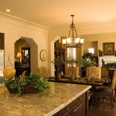 traditional kitchen by Designed Interiors of San Diego
