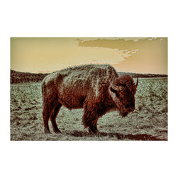 TONY GRIDER - American Buffalo Fine Art Poster Print, 18x24 - Museum quality prints delivered to your door.