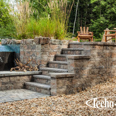 Contemporary Landscaping Stones And Pavers by Techo-Bloc