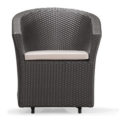 Zuo Modern - Zuo Modern Horseshoe Bay Espresso Chair - Zuo Modern Horseshoe Bay Espresso ChairIt's time to relax! With Zuo Modern's Horseshoe Bay Espresso Chair, you can do just that in super-chic style. This outdoor armchair is made from a UV-resistant synthetic weave with a water-resistant cushion for maximum durability in any type of weather. The soft seat and supportive back let you lounge to your heart's content, while a rocking mechanism in the base lets you truly lay back and relax. Add it to your deck or patio to round out an outdoor seating.UV resistantWater-resistant cushionRocking mechanismMade in China