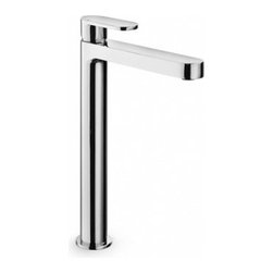 WS Bath Collections Muci 54234 Single Hole Bathroom Faucet - The WS Bath Collections Muci 54234 Single-Hole Bathroom Faucet is a super-high faucet that gives your bathroom a striking modern look like no other faucet can. Crafted in Italy this lever handle faucet in a premier polished chrome finish is at the height of fashion and engineering. Every piece is made from long-lasting brass and is resistant to corrosion and tarnishing and practically sparkles under your bathroom lights. This piece coordinates seamlessly with the Linea Collection and its durability and dependability are covered under the manufacturer's warranty. The WS Bath Collections Muci 54234 Single-Hole Bathroom Faucet is deck-mounted and designed for standard U.S. plumbing connections. Product Specifications Mount Type: Deck Mount Handle Style: Lever Spout Height: 9.76 in. Spout Reach: 7.87 in. About WS Bath CollectionsA tradition of fine handcraftsmanship warmth of material and beauty of design characterizes this company's exclusive collection of fine bathroom and kitchen products. The collections include innovative and distinctive sinks washbasins washstands bathtubs bathroom furniture and complementary accessories that provide inspirational solutions for every imaginable decor.