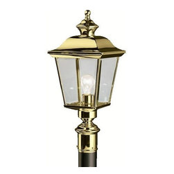 Kichler - Kichler Bay Shore Outdoor Post/Pier in Brass - Shown in picture: Outdoor Post Mt 1Lt in Polished Brass