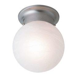 Trans Globe Lighting - Trans Globe Lighting 3607 BN Flushmount In Brushed Nickel - Part Number: 3607 BN