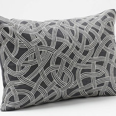 Endless Embroidered Pillow | Decorative Pillows | Bedding | Coyuchi