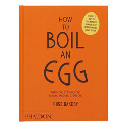 How to Boil an Egg - I think this is an important book for my not-so-great cooking skills.