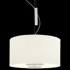 Counterweights Drum Pendant by George Kovacs