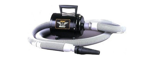 "Metropolitan Vacuum - B3-CD Air Force Blaster 10-Amp 4-HP Motorcycle Dryer - Air Force Blaster Motorcycle Dryer Air Force Blaster: features 4.0 Peak HP (29 000) FPM) Twin Fan Motor  10 ft. Heavy Duty Hose  Neoprene Blower Nozzle  1-1/4"" Adaptor  Air Maximizer Blower Nozzle  Micro Apdapter  Air Streamer Tool & Air Flare. Cuts drying time by 80%  This item cannot be shipped to APO/FPO addresses. Please accept our apologies."