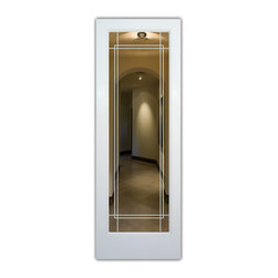 Contemporary glass inserts interior doors find interior doors and closet doors online for Purchase interior doors online
