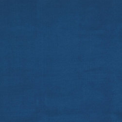 "Ballard Designs - Microfiber Cobalt Fabric by the Yard - Content: 100% polyester. Repeat: railroaded fabric. Care: Spot clean with upholstery shampoo. Width: 56"" wide. Solid cobalt woven in easy-care, suede-like polyester. . . . . Because fabrics are available in whole-yard increments only, please round your yardage up to the next whole number if your project calls for fractions of a yard. To order fabric for Ballard Customer's-Own-Material (COM) items, please refer to the order instructions provided for each product. Ballard offers free fabric swatches: $5.95 Shipping and Processing, ten swatch maximum. Sorry, cut fabric is non-returnable."