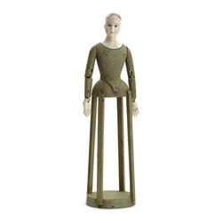 Go Home - Wooden Sainte Celeste - Gorgeous handpainted wooden Santos doll, Sainte Celeste. Fantastic doll for your child to play.