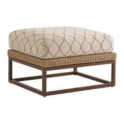 Lexington - Tommy Bahama Aviano Ottoman - Ottoman is synonymous with relaxation at home. Kicking your feet up at the end of the day or enjoy a weekend with family or friends is much more enjoyable when your body is in the right state of mind.