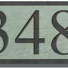 Traditional House Numbers by Brookstone