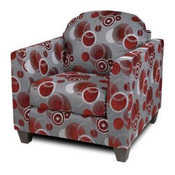 Chelsea Home Furniture - Chelsea Home Suzzy Chair in Celeste Ruby - Suzzy Chair Celeste Ruby in Celeste Ruby belongs to Liberty collection by Chelsea Home Furniture.