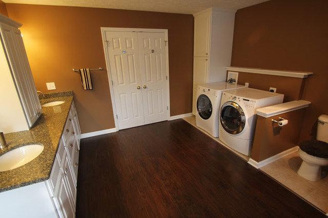 Master bath laundry room for Masters laundry