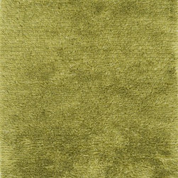 """Loloi - Loloi Garden Shag Gn01 Lawn Rug 7'-10"""" X 7'-10"""" - Breathe order, balance and calm into any setting with the new, hand-loomed barkley collection. These linear, tonal designs in wool and shimmery viscose are at once casual, chic and ultra sophisticated, with intricately shaded neutrals like charcoal, ivory, mocha and silver. Whether you are winding down from a hard-earned day or gently easing into a new one, the soothing designs in the barkley collection will provide the perfect sense of harmony and peace just where you need it most."""