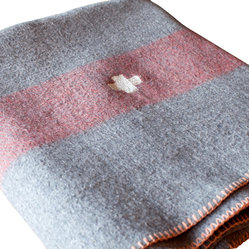 BoBo's Intriguing Objects - Wool Blanket, Grey - Inspired by vintage