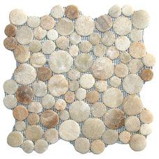 Rustic Mosaic Tile by Pebble Tile Shop