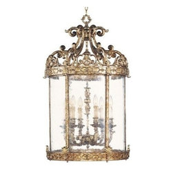 Livex Lighting - Livex Chateau Foyer Vintage Gold Leaf -8646-65 - Livex products are highly detailed and meticulously finished by some of the best craftsmen in the business