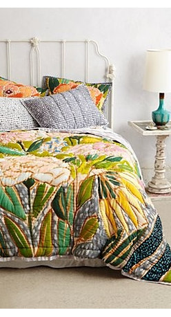 Lulie Wallace - Witherbee Quilt - An Anthropologie exclusive by Lulie WallaceCotton Dry cleanImported