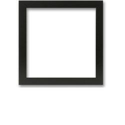 Bel-Art Design Studio - Matte Black Solid Wood Photo Poster Picture Frame, 11x17 - Solid Wood Photo, Poster, Picture Frame