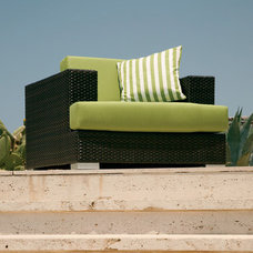 Contemporary Outdoor Chairs by authenTEAK Outdoor Living