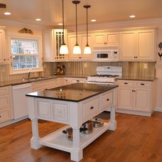Traditional Kitchen Cabinetry by Custom Service Hardware, Inc