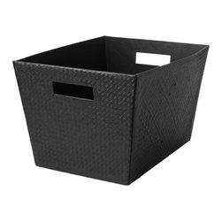 IKEA of Sweden - BLADIS Basket - Basket, black-brown