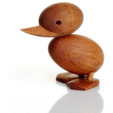 Modern Home Decor Hans Bolling Wooden Ducks