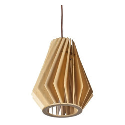 ParrotUncle - Contemporary Living Room Pendant Lighting With Wood Shade - Contemporary Living Room Pendant Lighting With Wood Shade