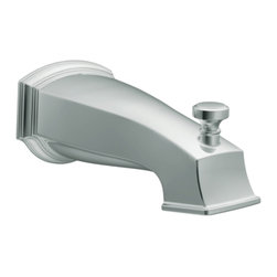 Moen - Moen S3859 Rothbury Diverter Tub Spout - The Rothbury series features a relaxed blend of vintage design and traditional elements that coordinate perfectly with both casual and luxurious decorating.