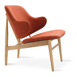 Bryght - Veronic Russet Lounge Chair - Make a bold statement with the Veronic lounge chairs. Choose from 2 upholstery options to liven up your space.