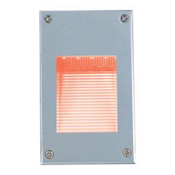 Jesco Lighting - Jesco HG-ST08M-12V-R LED Recessed Wall Aisle and Step Lights - Jesco HG-ST08M-12V-R LED Recessed Wall Aisle and Step Lights