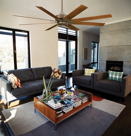 Contemporary Ceiling Fans by Premium Home Interior