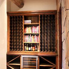 Rustic Wine Racks by La Puerta Originals