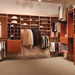 Custom Created Closet - More Space Place products - Murphy Beds, Custom Closets, Organizing Systems, Garages and Workshops, Hidden Beds, Home Offices, Pantries and more!