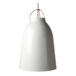 Modernist Amis Bell Lamp White Large - Modernist Amis Bell Pendant Lamp Large White