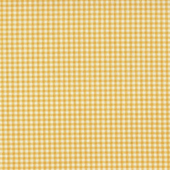 "24"" Tailored Tiers Gingham Check Yellow"