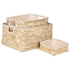 Contemporary Baskets by ZARA HOME
